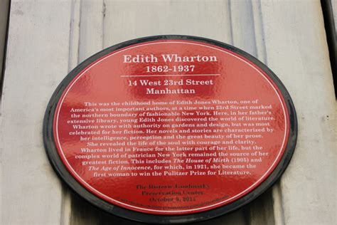 edith wharton house birthplace of american author to get commemorative plaque historic districts council