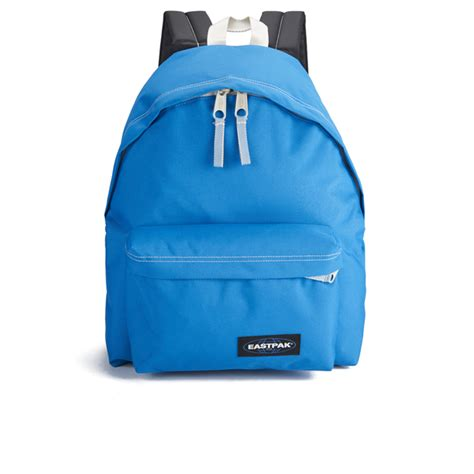 eastpak bag eastpak padded pak r backpack side blue clothing