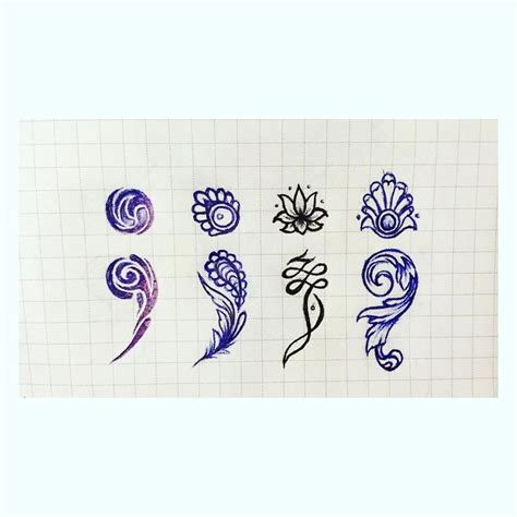 semicolon tattoo designs 1000 ideas about semi colon on semicolon