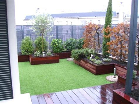Idee Terrasse Jardin by Am 233 Nagement Jardin En Terrasse Inds