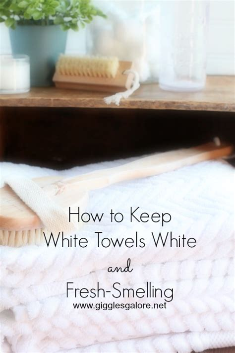 how to keep bathroom smelling fresh how to keep white towels white and fresh smelling