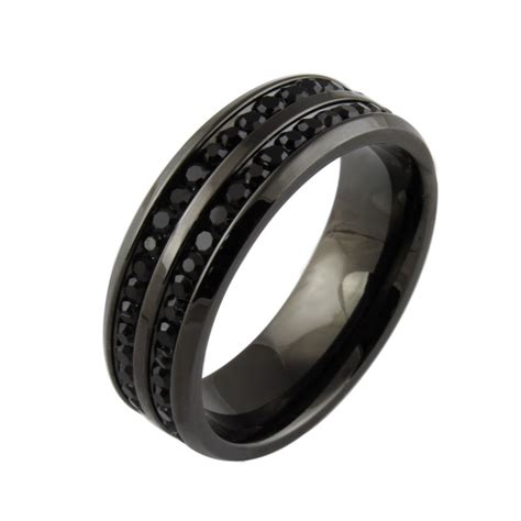 Black Wedding Rings by Unique Black Wedding Rings For For Unique
