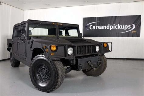 books on how cars work 1994 hummer h1 seat position control 1994 hummer h1 open top 40 072 miles black kevlar pickup truck 6 5l diesel autom for sale