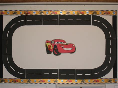 6 Best Images Of Printable Race Car Track Race Track Race Car Template Printable