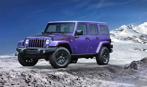 Jeep Edition Rugged Winter Roading With The 2016 Jeep 174 Wrangler