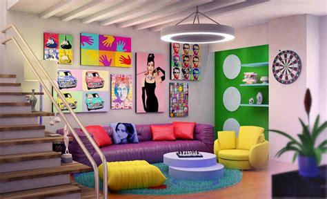 1950s home design ideas decorating retro basement design with modern furniture