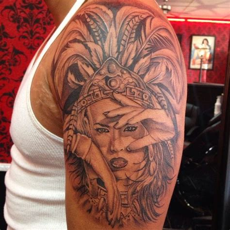 aztec princess tattoos 110 best images about jasons on chicano