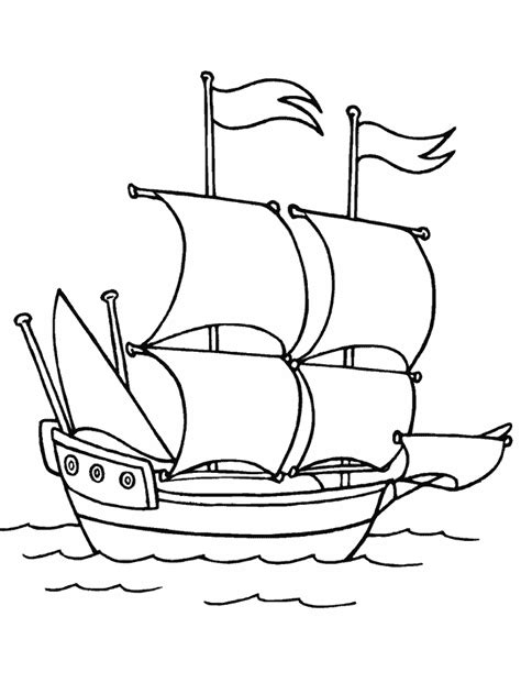 mayflower coloring page mayflower boat coloring page free printable mayflower