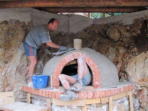 forno per pizze da giardino costruire un forno a legna barbecue come realizzare un