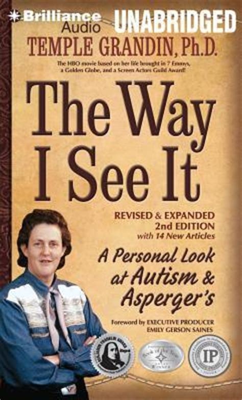 what i saw in america books the way i see it ph d temple grandin 9781491514795