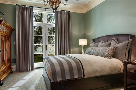 green walls grey curtains the webster house traditional bedroom milwaukee by