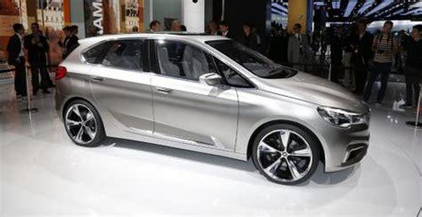 bmw minivan concept paryż 2012 bmw concept active tourer trzycylindrowy