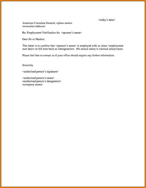 Employment Verification Letter Hourly 8 employment and salary verification letter sales slip template