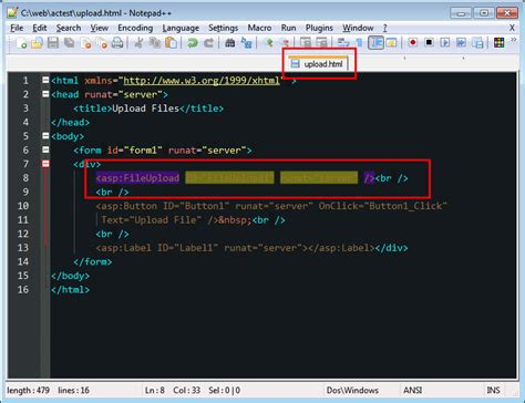 notepad themes html which notepad syntax highlighting style is applying
