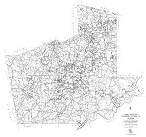 dot county maps carroll county 1995