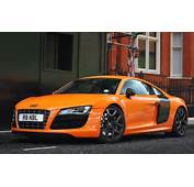 Orange Audi R8 Wallpaper  HD Car Wallpapers