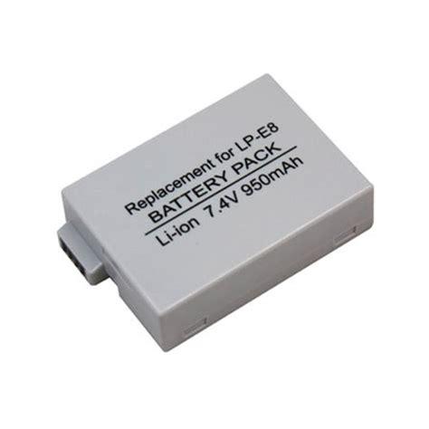 Canon Battery Lp E8 1120mah canon lp e8 rechargeable lithium ion battery pack 7 2v
