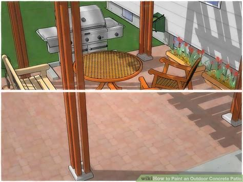 concrete paint patio how to paint an outdoor concrete patio with pictures