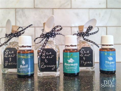 Diy Home Christmas Decorations diy essential oil and sea salt gift setdiy show off