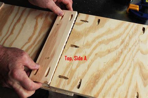 diy modern wooden toy box  lid  step  step tutorial