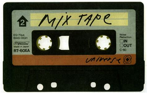 song mix the aesthic of a mixtape compilation playlist