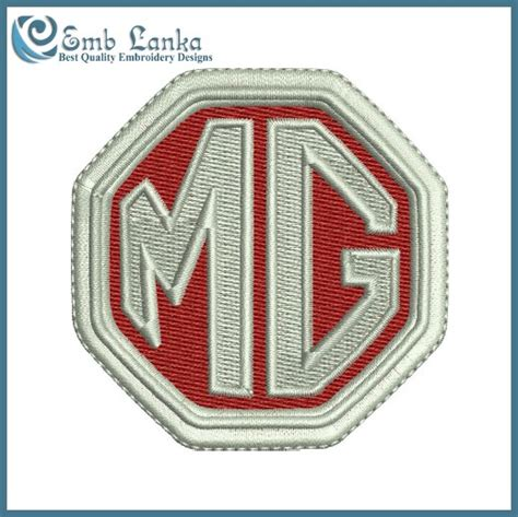 design a logo for embroidery mg car logo embroidery design emblanka com