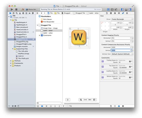 top layout guide interface builder ios make font grow together with uilabel resized by