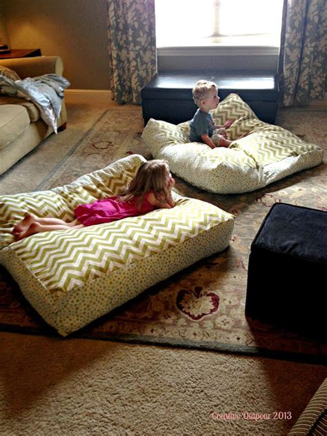 make floor cushions make your own floor pillows