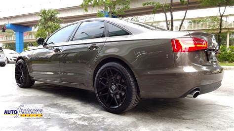 Audi Performance Wheels by Primetime Audi A6 Hybrid Equipped With Hre Performance