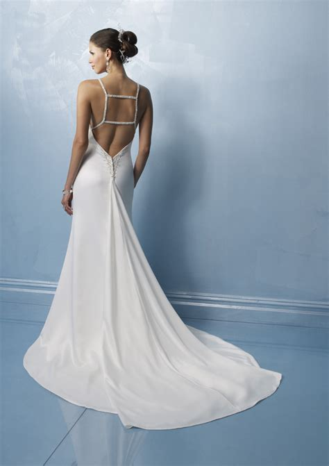 low back wedding dresses wedding inspiration trends
