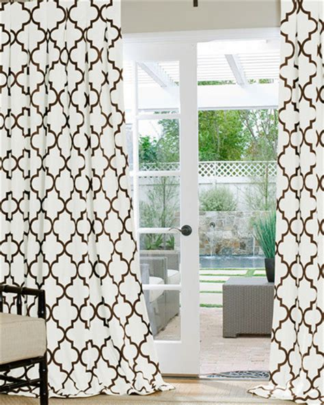 Trellis Fabric Curtains Made Geometric Custom Drapes And Blinds On Sale