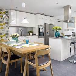 kitchen diner design ideas kitchen diner ideas on diners open plan and shaker kitchen