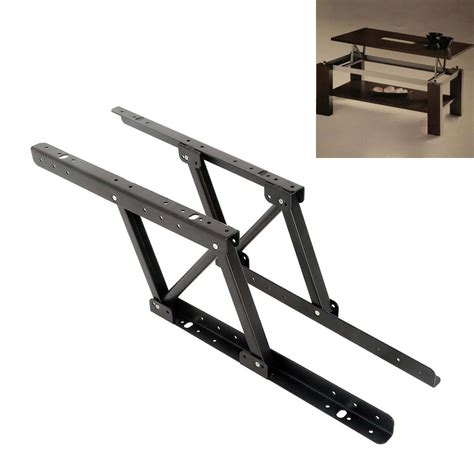 Lift Top Coffee Table Mechanism 1pair Lift Up Top Coffee Table Lifting Frame Mechanism Hinge Hardware Ebay