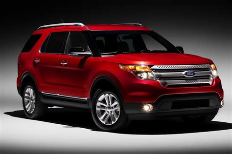 suv ford explorer 2011 ford explorer suv revealed gets 290hp 3 5 liter v6