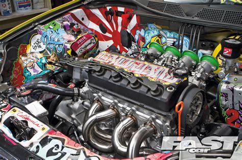 wallpaper engine library modified honda civic ek fast car