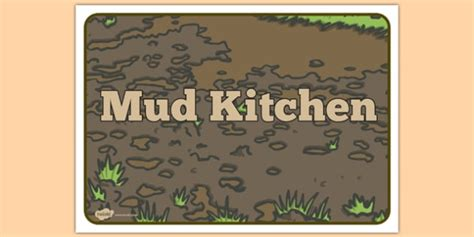 Mud Kitchen Labels Mud Kitchen Sign Mud Kitchen Sign Mud Kitchen Play Mess