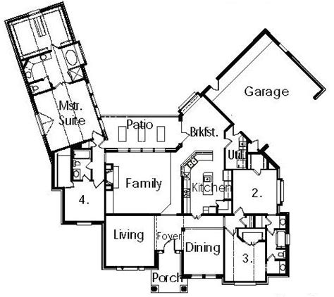 cul de sac floor plans cul de sac house floor plans