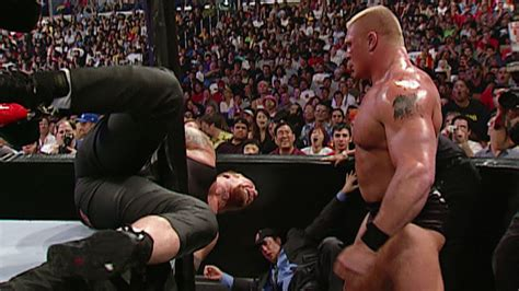 undertaker vs brock lesnar biker chain match wwe no wwe wrestling oficjalna polska strona