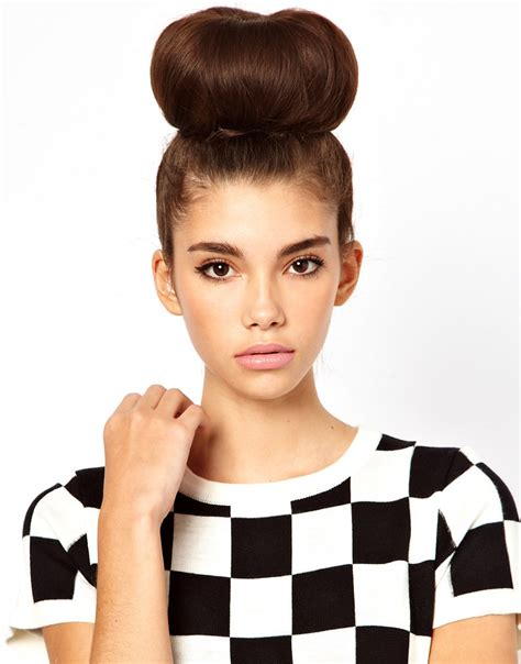 updo for big head asos extra large hair donut from asos epic wishlist