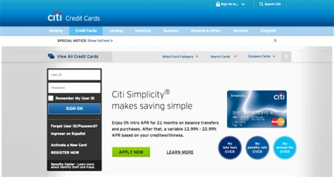 make payment to citibank credit card citicards login