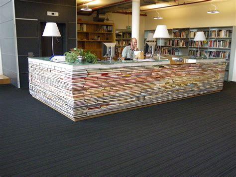 library book desk decor hacks