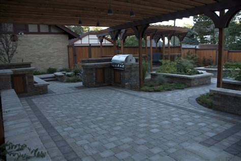Paved Backyard Ideas Paver Patio Centennial Co Photo Gallery Landscaping