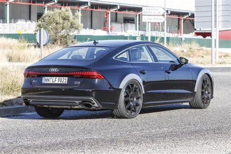 2019 audi rs7 test mule first spy shots gtspirit
