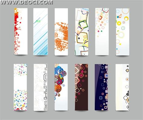 12 x banner stand popular background pattern background