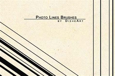 Photoshop Pattern Line Brush | 30 sets of free lines brushes for photoshop users designbeep