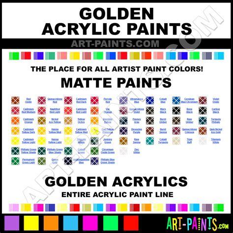 golden matte acrylic paint colors golden matte paint colors matte color matte acrylics