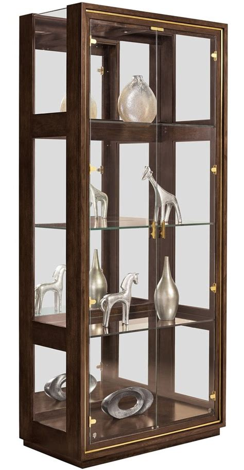 Modern Display Cabinets With Glass Doors Style Modern Glass Door Display Cabinet