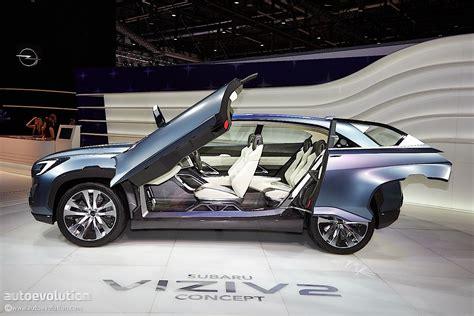 Floor Plans With Open Concept subaru viziv 2 concept previews the future at geneva 2014