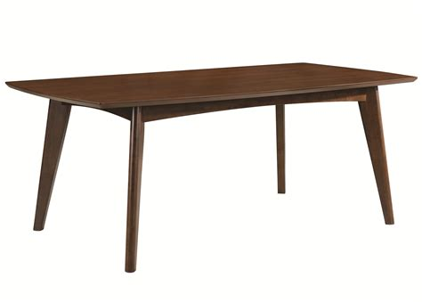 coaster kitchen table coaster malone mid century modern casual dining table sol furniture kitchen tables