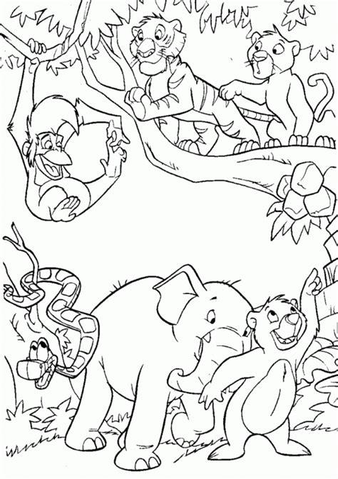 baby african animals coloring pages la jungla para pintar